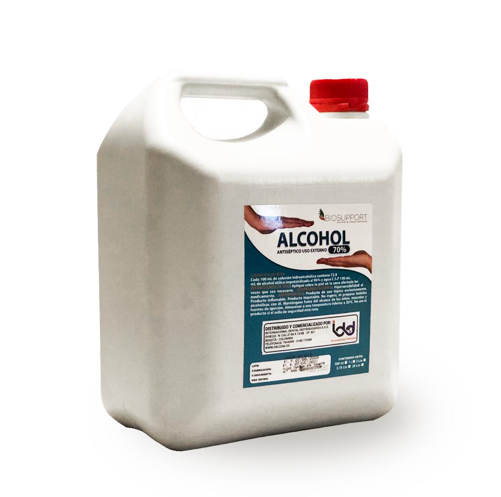Alcohol Etílico al 70% ( Galón 3,75 Lt)